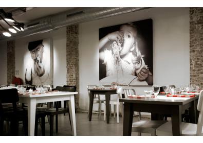 Украшение картинами кафе и ресторанов